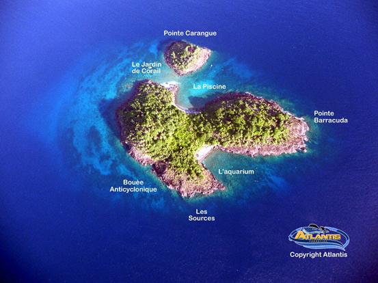 Cousteau Marine Park Guadeloupe FWI