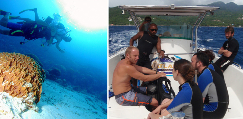 DISCOVER SCUBA DIVING IS FUN !