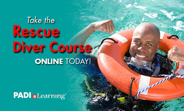 PADI Rescue Diver E-Learning Option