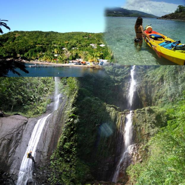 Unternehmungen auf Guadeloupe (frz. Antillen)