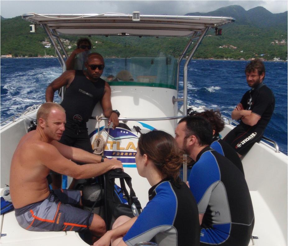 PADI Scuba Diver Kurs Guadeloupe
