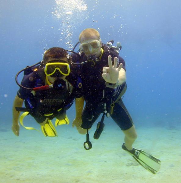 Moniteur de plongée