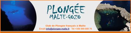 Merci à Plongée Malte pour leur accueil et professionnalisme