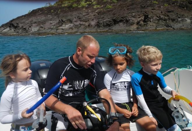 Plongée enfants guadeloupe : réservez lui une première fois inoubliable