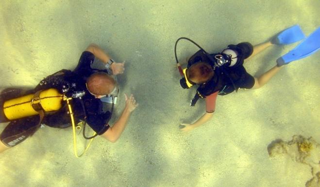 Plongée enfants Guadeloupe