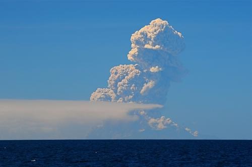Montserrat en activité depuis la Réserve Cousteau
