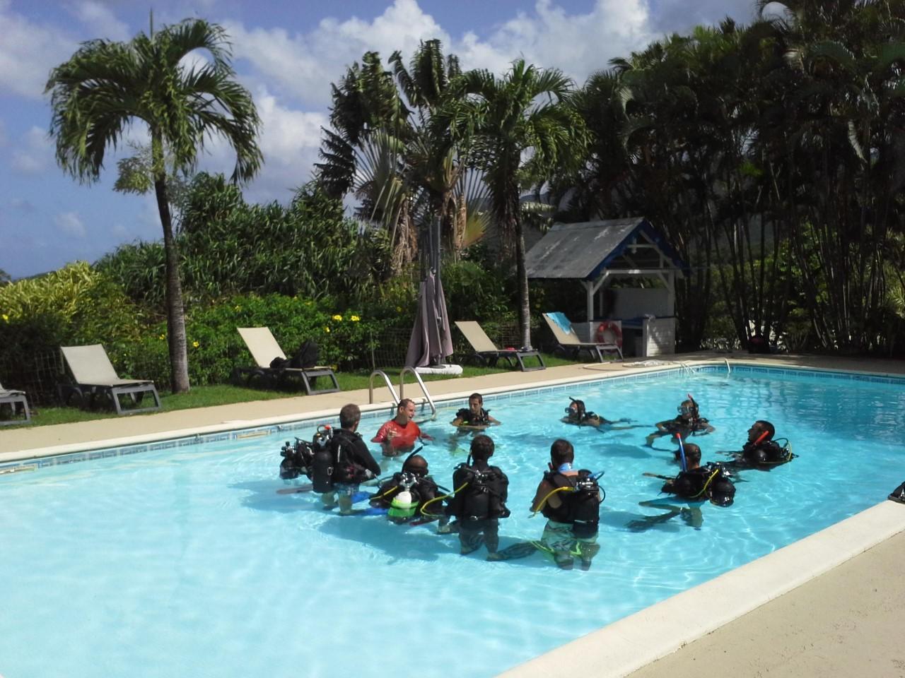 Formation INITIATEUR Bathysmed en Guadeloupe