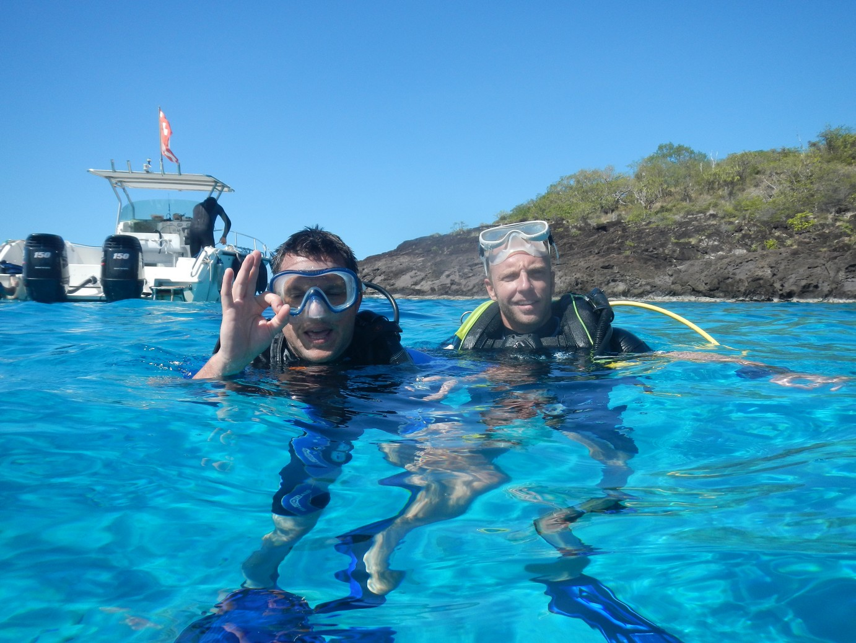 Passez votre niveau 1 de plongée en Guadeloupe