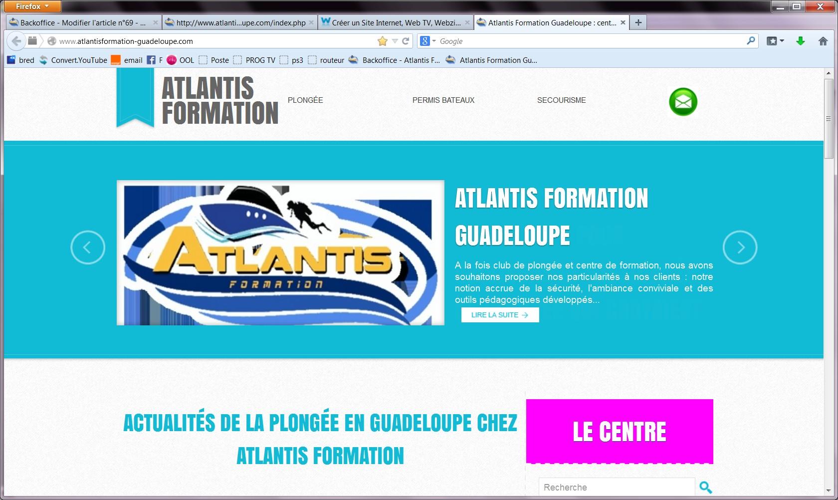 Les Infos du Club    -  Janvier 2014  -