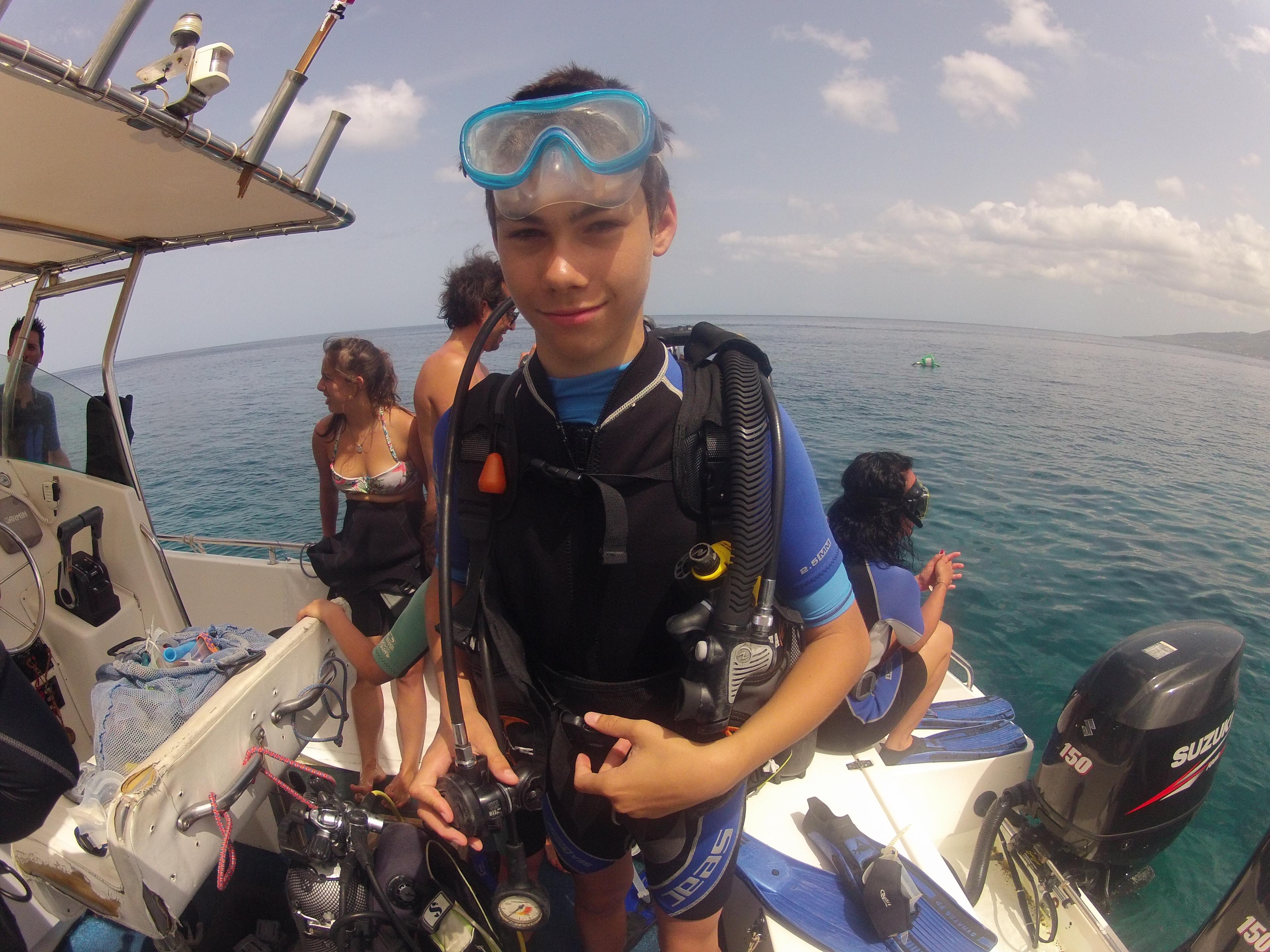 Un plongeur bien équipé est un plongeur qui part en sécurité