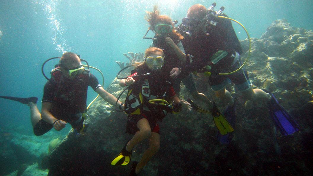 Baptême Junior Réserve Cousteau