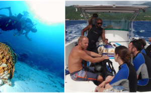 Baptême plongée Guadeloupe, laissez vous guider en toute sécurité dans le monde du silence