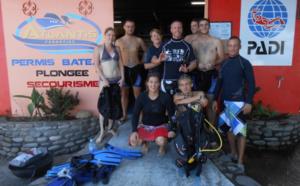 Formations plongée Guadeloupe