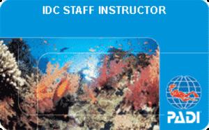 IDC Staff PADI