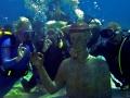 buste Commandant Cousteau  et ces Amis